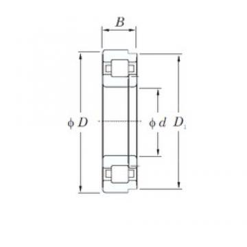 320 mm x 480 mm x 74 mm  KOYO NUP1064 cylindrical roller bearings