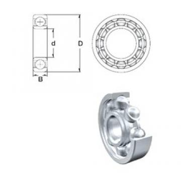 130 mm x 165 mm x 18 mm  ZEN S61826 deep groove ball bearings